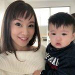 鈴木亜美の子供が似てない?テレビ出演!名前と誕生日?ダウン?画像